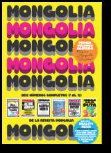 Mongolia 6x1 (2): Los números del 7 al 12, encuadernados.
