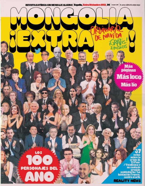 Mongolia 100 personajes