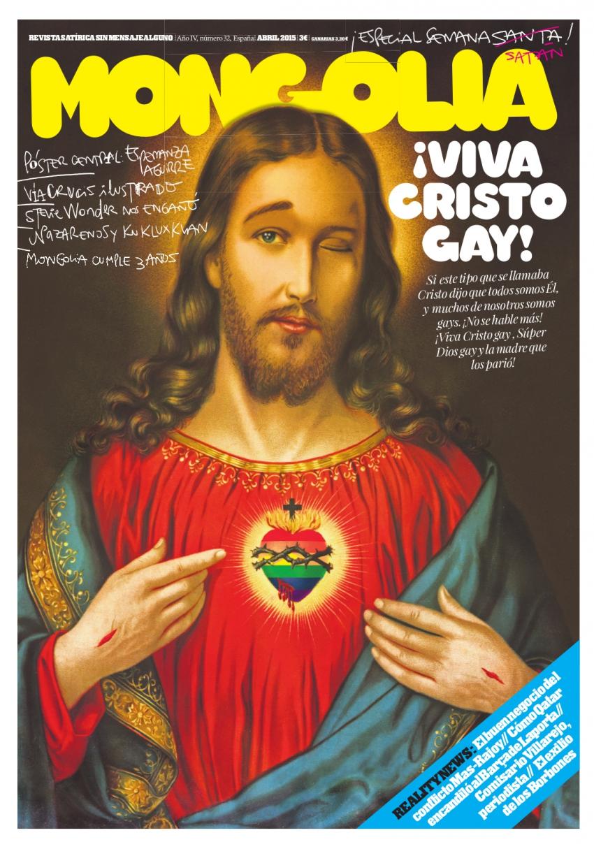 ¡Viva Cristo gay!