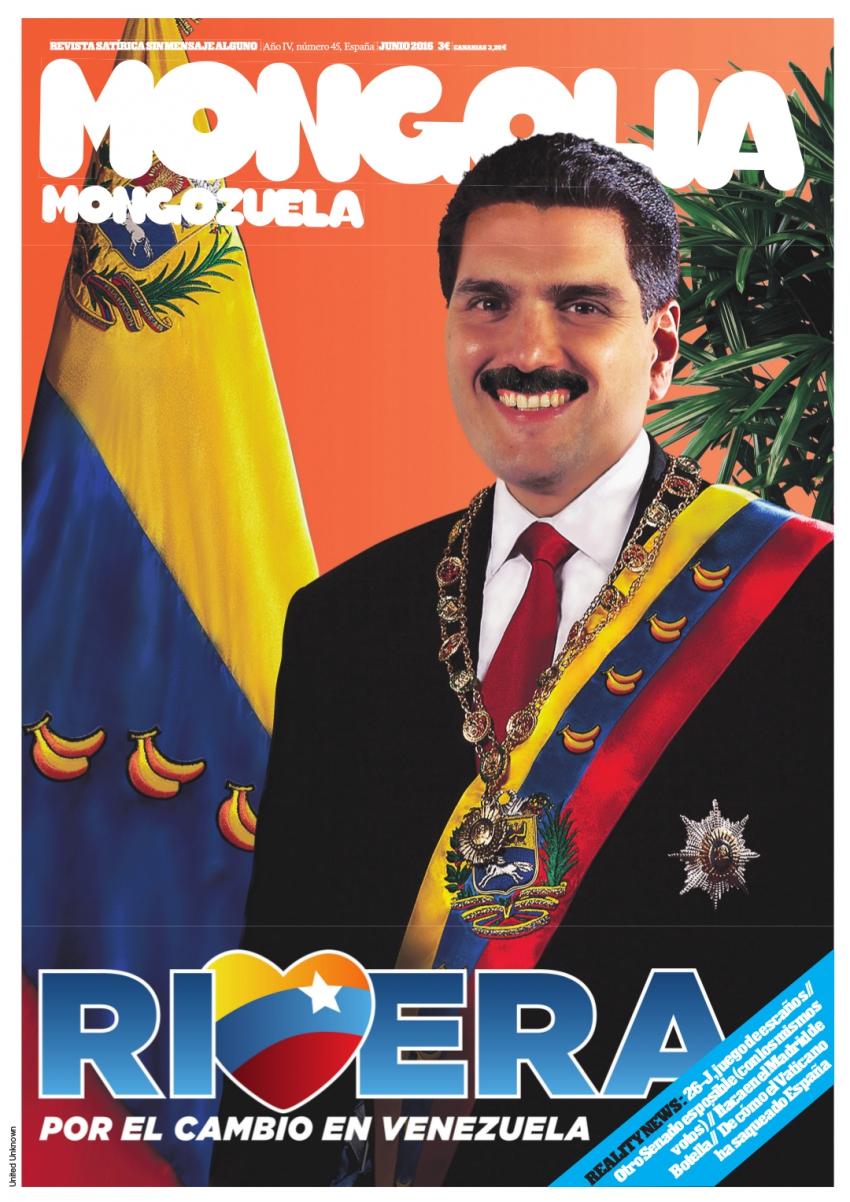 Rivera, por el cambio en Venezuela