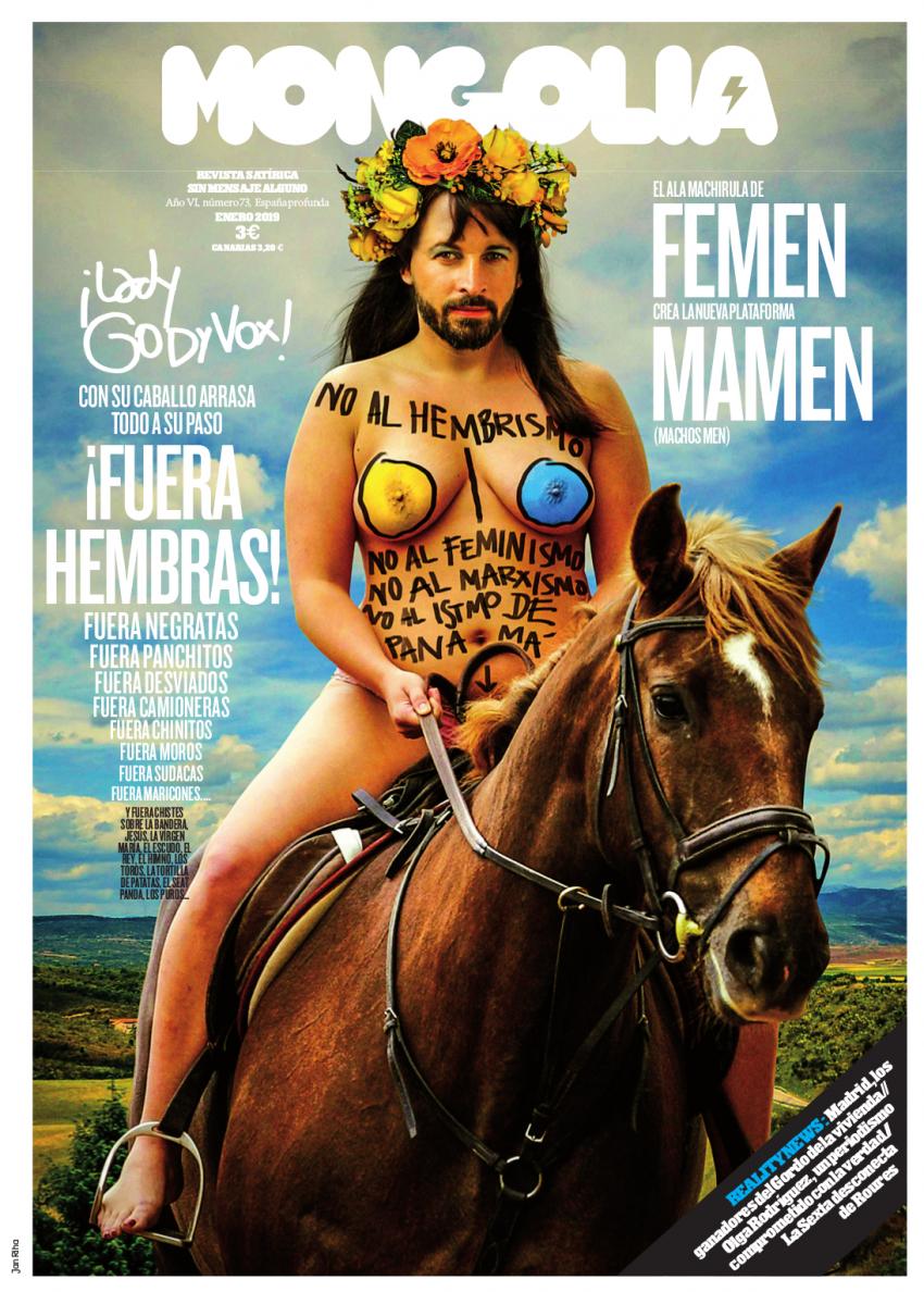 MAMEN, el ala machirula de FEMEN