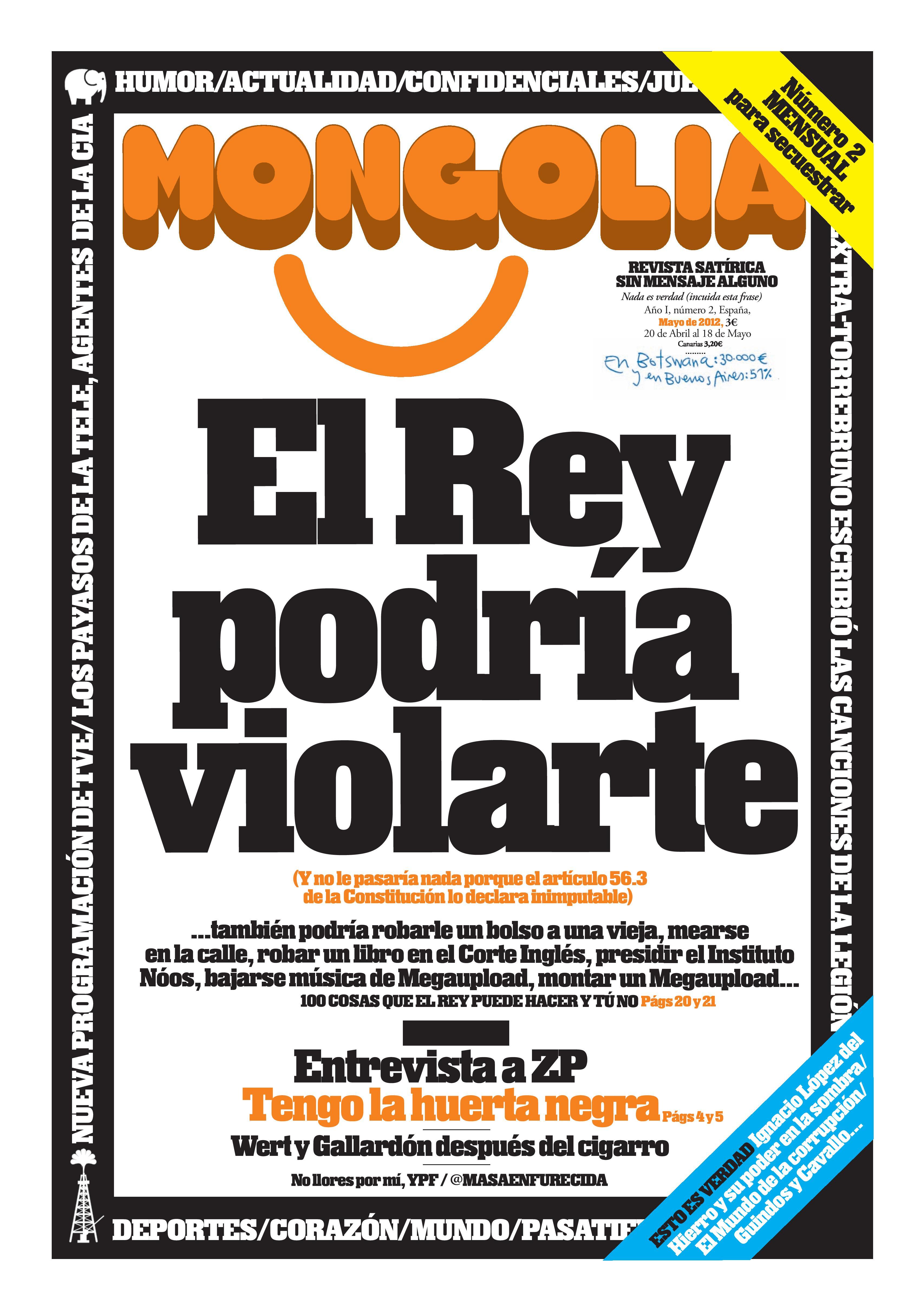 N mero 2 de revista mongolia presentaci n mongolia for Revista primicias ya hoy